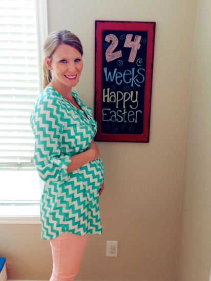 24 weeks with middle