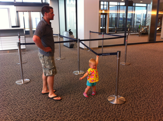 A new walker in an airport - it should be a sport!
