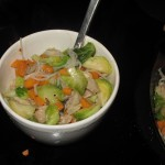 (Almost) Paleo Chicken Noodle Soup