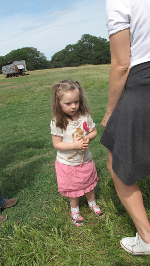 I loved how serious little Tenley was during this moment.