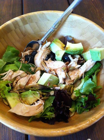 We've barely thrown a bite of food away since moving.  Crock pot chicken for dinner means leftover chicken for a salad the next day at lunchtime.