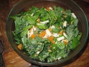 Kale Salad 300x225 My (Sort of) Primal Pregnancy